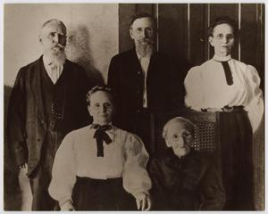 Primary view of object titled '[Portrait of Members of the Nelson Family]'.