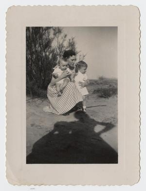 Primary view of object titled '[Photograph of Dorothy Nelson Parcher]'.