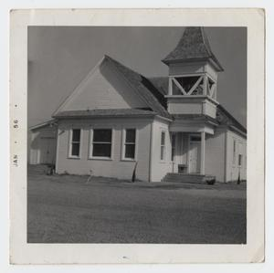 Primary view of object titled '[Photograph of an Unknown Church]'.