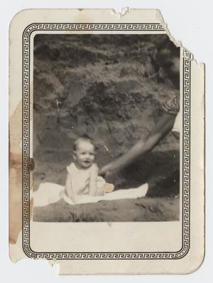 Primary view of object titled '[Photograph of Infant Frances Arnold]'.