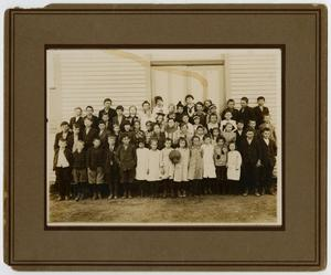Primary view of object titled '[Photograph of Murphy School Students Circa 1914]'.