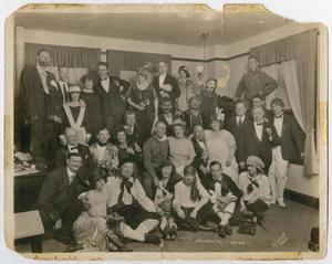 Primary view of object titled '[Photograph of the Theater Group in Houston, Texas]'.