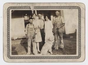 Primary view of object titled '[Photograph of Nelson Family Siblings]'.