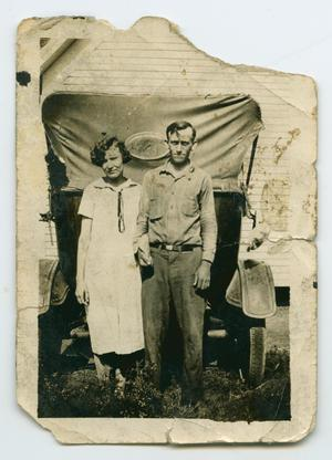 Primary view of object titled '[Photograph of James and Lula Pearl Nelson]'.