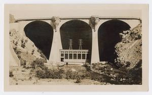 [Photograph of the Power House at the Coolidge Dam in Arizona]