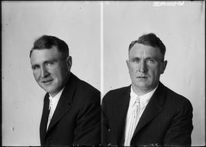 Primary view of object titled '[Portraits of Man]'.