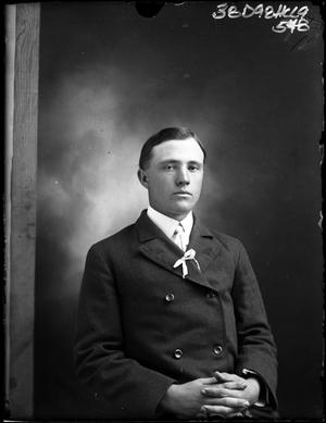 Primary view of object titled '[Single Pose of Unknown Man]'.