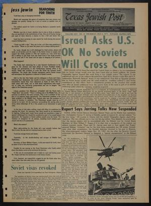 Primary view of object titled 'Texas Jewish Post (Fort Worth, Tex.), Vol. 25, No. 18, Ed. 1 Thursday, May 6, 1971'.