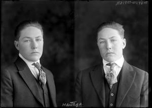 Primary view of object titled '[Man in Suit and Tie]'.