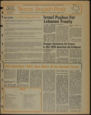Primary view of object titled 'Texas Jewish Post (Fort Worth, Tex.), Vol. 36, No. 52, Ed. 1 Thursday, December 30, 1982'.