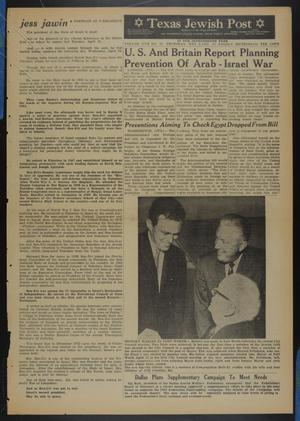 Primary view of object titled 'Texas Jewish Post (Fort Worth, Tex.), Vol. 17, No. 18, Ed. 1 Thursday, May 2, 1963'.