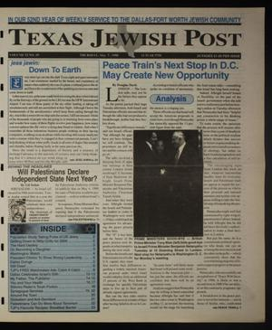 Primary view of object titled 'Texas Jewish Post (Fort Worth, Tex.), Vol. 52, No. 19, Ed. 1 Thursday, May 7, 1998'.