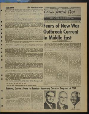 Primary view of object titled 'Texas Jewish Post (Fort Worth, Tex.), Vol. 28, No. 32, Ed. 1 Thursday, August 8, 1974'.