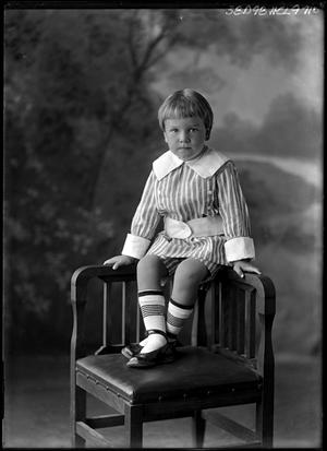 Primary view of object titled '[Portrait of a Boy]'.