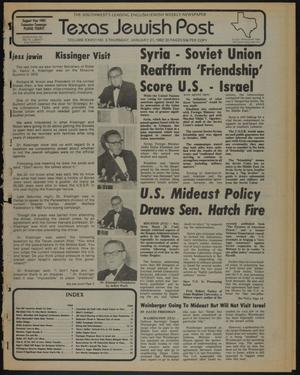 Primary view of object titled 'Texas Jewish Post (Fort Worth, Tex.), Vol. 36, No. 3, Ed. 1 Thursday, January 21, 1982'.