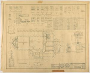 Primary view of object titled 'Abilene Country Club, Abilene, Texas: Ground Floor Plan'.