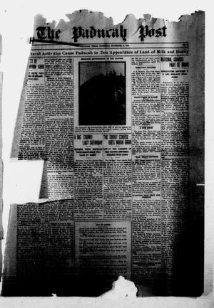 The Paducah Post (Paducah, Tex.), Vol. 10, No. 26, Ed. 1 Thursday, November 11, 1915