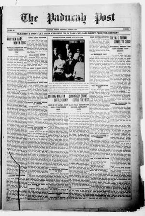The Paducah Post (Paducah, Tex.), Vol. 11, No. 7, Ed. 1 Thursday, June 28, 1917
