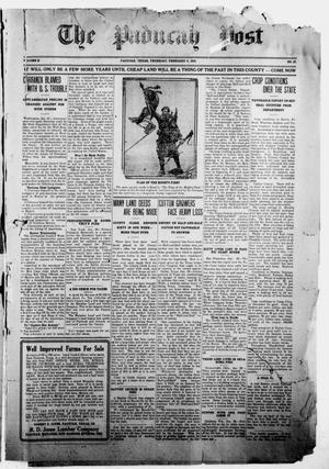 The Paducah Post (Paducah, Tex.), Vol. 10, No. 37, Ed. 1 Thursday, February 3, 1916