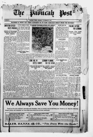 The Paducah Post (Paducah, Tex.), Vol. 11, No. 27, Ed. 1 Thursday, November 22, 1917