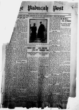 The Paducah Post (Paducah, Tex.), Vol. 10, No. 39, Ed. 1 Thursday, February 17, 1916