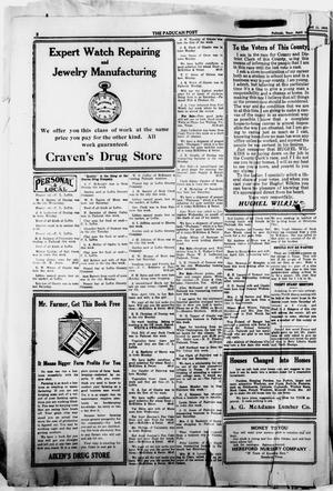 The Paducah Post (Paducah, Tex.), Vol. 11, No. 45, Ed. 1 Thursday, April 18, 1918
