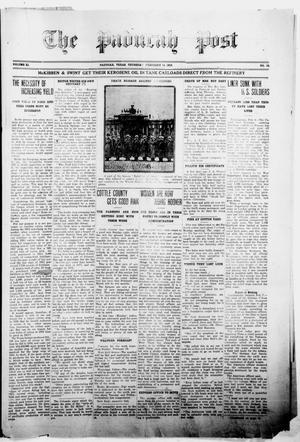 The Paducah Post (Paducah, Tex.), Vol. 11, No. 38, Ed. 1 Thursday, February 14, 1918