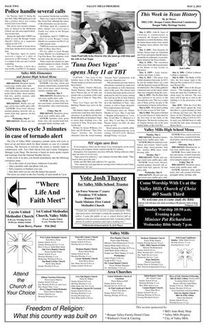 Valley Mills Progress (Valley Mills, Tex ), Vol  24, No  5