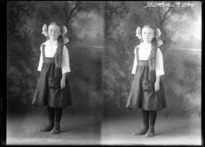 Primary view of object titled '[Portraits of Girl in Jumper]'.
