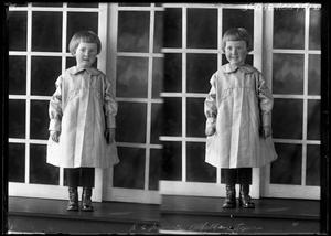 Primary view of object titled '[Portraits of Girl by Window]'.