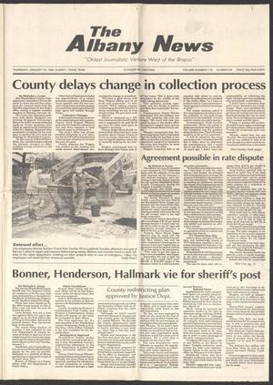 The Albany News (Albany, Tex.), Vol. 116, No. 32, Ed. 1 Thursday, January 16, 1992