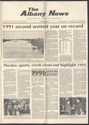 The Albany News (Albany, Tex.), Vol. 116, No. 30, Ed. 1 Thursday, January 2, 1992