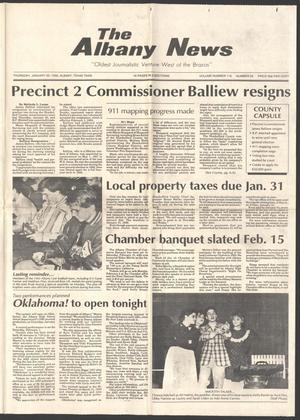 The Albany News (Albany, Tex.), Vol. 116, No. 34, Ed. 1 Thursday, January 30, 1992