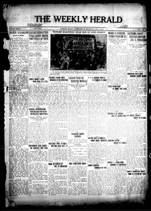 Primary view of object titled 'The Weekly Herald (Yoakum, Tex.), Vol. 36, No. [37], Ed. 1 Thursday, December 8, 1932'.
