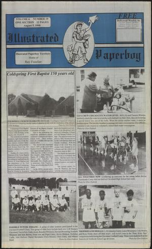 Primary view of Illustrated Paperboy (Cleveland, Tex.), Vol. 6, No. 19, Ed. 1 Wednesday, August 5, 1998