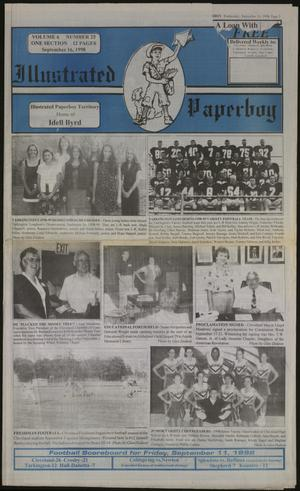 Primary view of Illustrated Paperboy (Cleveland, Tex.), Vol. 6, No. 25, Ed. 1 Wednesday, September 16, 1998