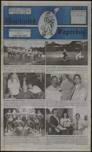 Primary view of Illustrated Paperboy (Cleveland, Tex.), Vol. 6, No. 24, Ed. 1 Wednesday, September 9, 1998