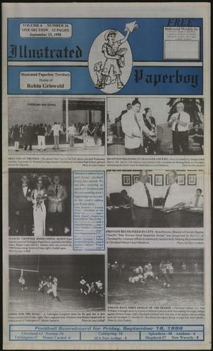 Primary view of Illustrated Paperboy (Cleveland, Tex.), Vol. 6, No. 26, Ed. 1 Wednesday, September 23, 1998