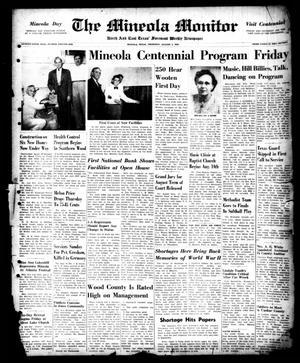 The Mineola Monitor (Mineola, Tex.), Vol. 75, No. 21, Ed. 1 Thursday, August 3, 1950