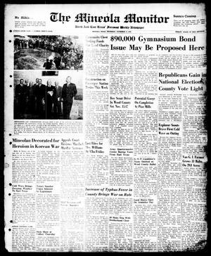 The Mineola Monitor (Mineola, Tex.), Vol. 75, No. 34, Ed. 1 Thursday, November 9, 1950