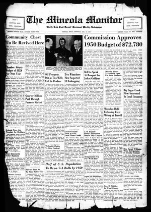 The Mineola Monitor (Mineola, Tex.), Vol. 74, No. 39, Ed. 1 Thursday, December 15, 1949