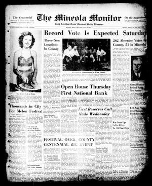 The Mineola Monitor (Mineola, Tex.), Vol. 75, No. 19, Ed. 1 Thursday, July 20, 1950