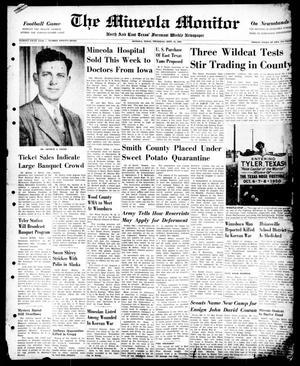 The Mineola Monitor (Mineola, Tex.), Vol. 75, No. 27, Ed. 1 Thursday, September 21, 1950