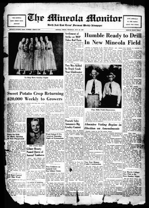 The Mineola Monitor (Mineola, Tex.), Vol. 74, No. 31, Ed. 1 Thursday, October 20, 1949