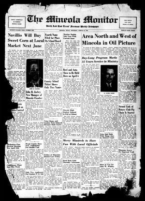 The Mineola Monitor (Mineola, Tex.), Vol. 74, No. 1, Ed. 1 Thursday, March 24, 1949