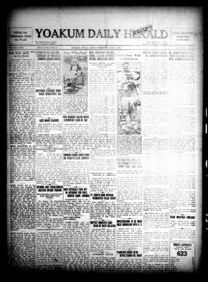 Yoakum Daily Herald (Yoakum, Tex.), Vol. 35, No. 57, Ed. 1 Sunday, June 7, 1931