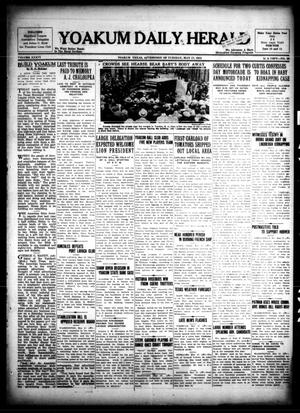 Primary view of object titled 'Yoakum Daily Herald (Yoakum, Tex.), Vol. 36, No. 39, Ed. 1 Tuesday, May 17, 1932'.
