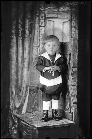 Primary view of object titled '[Portrait of a Child]'.