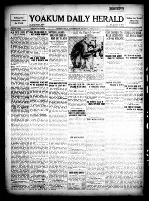 Primary view of object titled 'Yoakum Daily Herald (Yoakum, Tex.), Vol. 35, No. 25, Ed. 1 Thursday, April 30, 1931'.