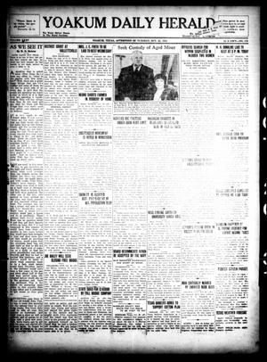 Primary view of object titled 'Yoakum Daily Herald (Yoakum, Tex.), Vol. 35, No. 170, Ed. 1 Tuesday, October 20, 1931'.